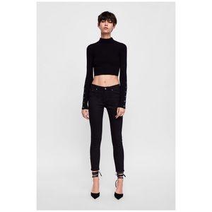 3 for 30$ Zara black skinny Jeans